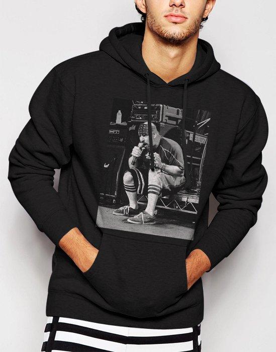 New Rare Suicidal Tendencies Vocalis Men Black Hoodie Sweater