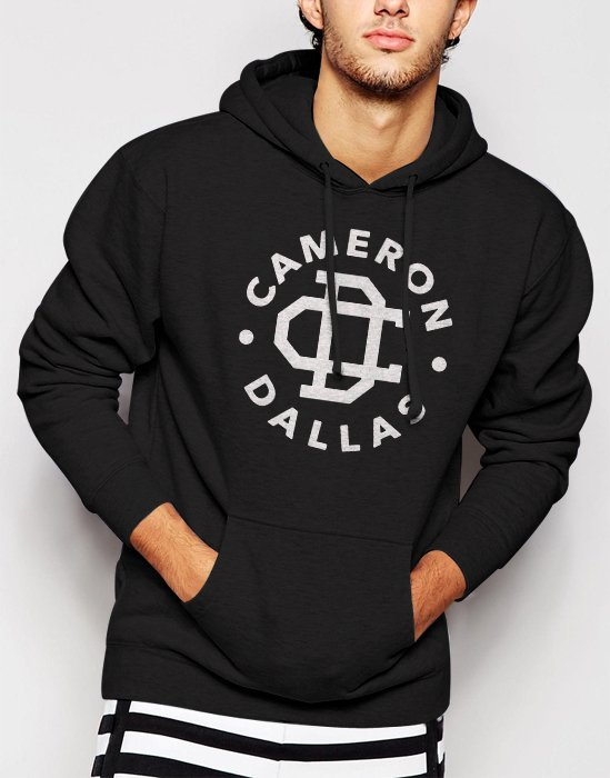 Cameron Dallas Funny Slogan Dope Men Black Hoodie Sweater