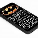 Batman Room Funny Quote iPhone 6s 5.5 Inch Black Case