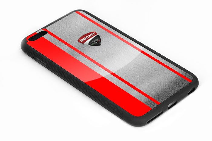 Ducati Corse Red Logo Iphone 6s 5.5 Inch Black Case