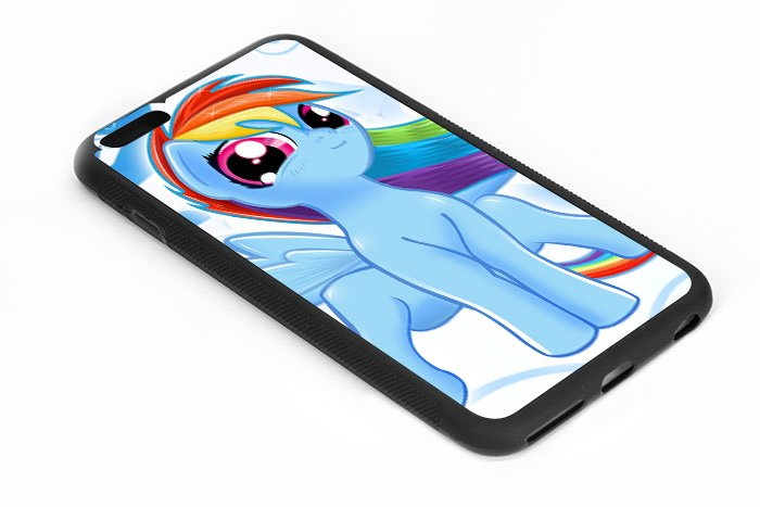 My Little Pony Rainbow Dash Iphone 6s 5.5 Inch Black Case