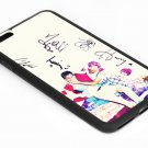 One Direction'Signature Iphone 6s 5.5 Inch Black Case