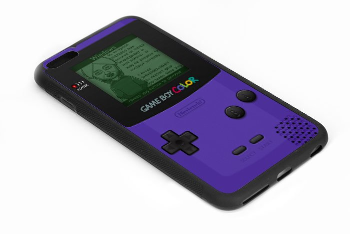 Retro Gameboy Iphone 6s 5.5 Inch Black Case