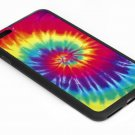 Tie Dye Rainbow Iphone 6s 5.5 Inch Black Case