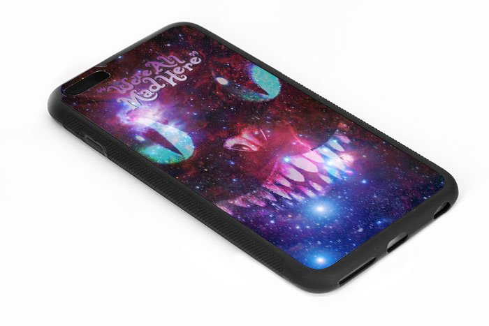 We're All Made Here Galaxy Cat Iphone 6s 5.5 Inch Black Case