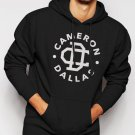Cameron Dallas Funny Slogan Dope Men Black Hoodie