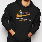 Can't Someone Else Just Do It Men Black Hoodie