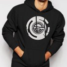 Laughing Man Ghost in the Shell Anime Mange Hacker Men Black Hoodie