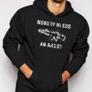 Nobody Needs An AR15 Men Black Hoodie