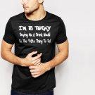 New Hot 18th Birthday Funny Joke Present Novelty Gift  Black T-Shirt for Men