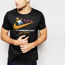 New Hot Can't Someone Else Just Do It Black T-Shirt for Men