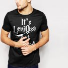 New Hot It's Leviosa Not Leviosa Harry Potter Black T-Shirt for Men