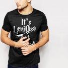 New Hot It's Leviosa Not Leviosa Harry Potter Black T-Shirt for Men