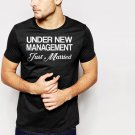 New Hot JUST MARRIED FUNNY JOKE WEDDING Black T-Shirt for Men