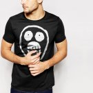 New Hot Mighty Boosh Skull Black T-Shirt for Men