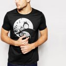 New Hot Nightmare Before Totoro Black T-Shirt for Men