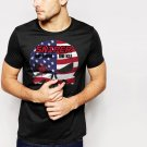 New Hot THE PUNISHER US AMERICAN SNIPER Black T-Shirt for Men