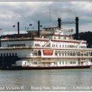 Rising Sun Indiana Postcard Grand Victoria II Riverboat Casino