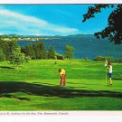 New Brunswick Postcard St Andrews By The Sea Algonquin Hotel Golf Course