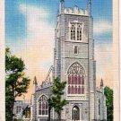 Geneva New York Postcard Trinity Church Linen CT Curteich
