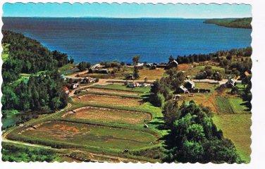 Ontario Postcard Manitoulin Island Sandfield Lake Manitou Fish Hatchery