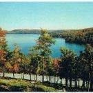 Smoke Lake Ontario Postcard Algonquin Park from Hanes Memorial