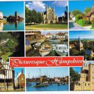 Hampshire England Postcard Multi View Langstone Portsmouth East Meon