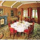 Kelso Scotland UK Postcard Floors Castle Dining Room