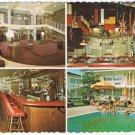 Indianapolis Indiania Postcard Ramada Inn Northwest Hangar Restaurant Multi View