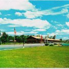 Cornwall Ontario Postcard Fountain Motel and Restaurant Vincent Massey Drive