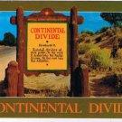 British Columbia Alberta Postcard Continental Divide