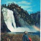 Quebec Canada Postcard Montmorency Falls