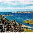 Quebec Laminated Postcard RPPC Baie des Capusins Cap-Chat