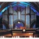 Quebec Laminated Postcard RPPC Notre Dame Basilica Organs