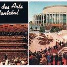 Montreal Quebec Postcard Place des Arts Multi View