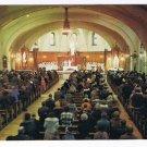 Quebec Laminated Postcard RPPC St Joseph's Oratory Mount Royal Interior