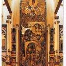 Quebec Laminated Postcard RPPC Notre Dame Basilica Sacred Heart Chapel