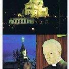 Quebec Laminated Postcard RPPC St Joseph's Oratory Multi View