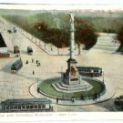 Grand Circle Columbus Monument New York Postcard 1908