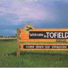 Tofield Alberta Bird Capital of Canada Postcard