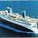 Prince Edward Island Laminated Postcard RPPC MV Abegweit Ferry