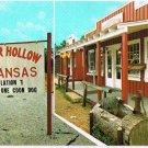 Arkansas Postcard Booger Hollow Population 7 Russellville Harrison Ozarks