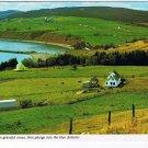 Nova Scotia Laminated Postcard RPPC Antigonish Coastal View