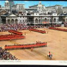 Ceremony Trooping of the Colour Horse Guards Postcard
