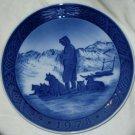 ROYAL COPENHAGEN Christmas Plate 1978 Greenland Scenery