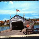 Covered Bridge Hartland New Brunswick Postcard Used