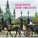New Orleans Louisiana Postcard Jackson Square St Louis Cathedral