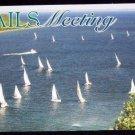 Mackinac - Manitoulin Island Annual Yacht Race Postcard