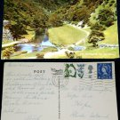 Dovedale National Park River Dove England Postcard