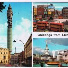 England UK Postcard London Westminster Double Decker Bus Towers